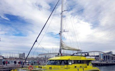 Trandiesel equipa un catamarán turístico en apenas 2 meses