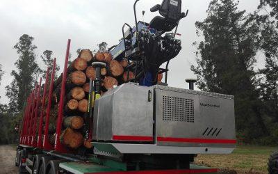 Doosan y Transdiesel irrumpen en el mercado de las grúas forestales